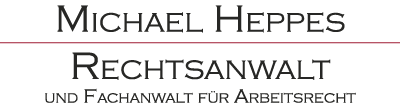 RECHTSANWALT MICHAEL HEPPES Logo